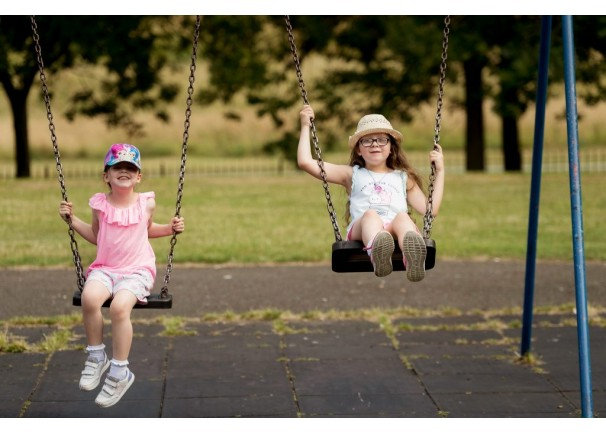 Playing outside helps children to have a stake in their communities