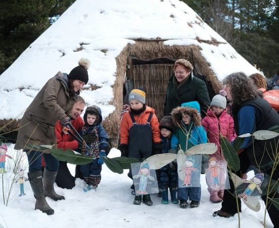 Abriachan opening marks outdoor nursery first for Thrive