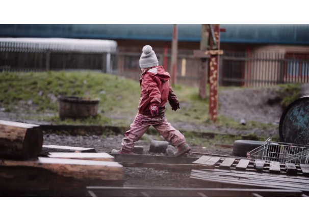 Video: Urban Outdoor Play