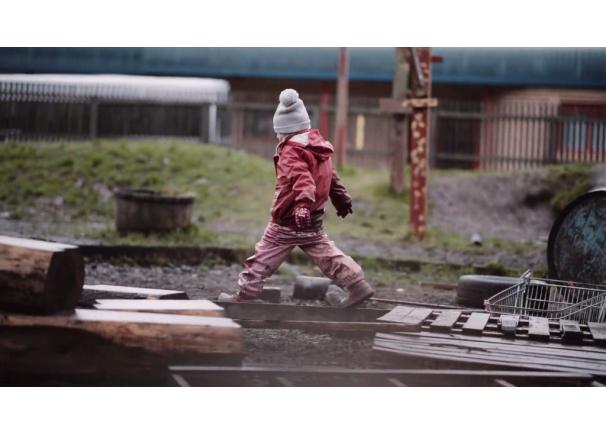 Video: Urban Outdoor Play