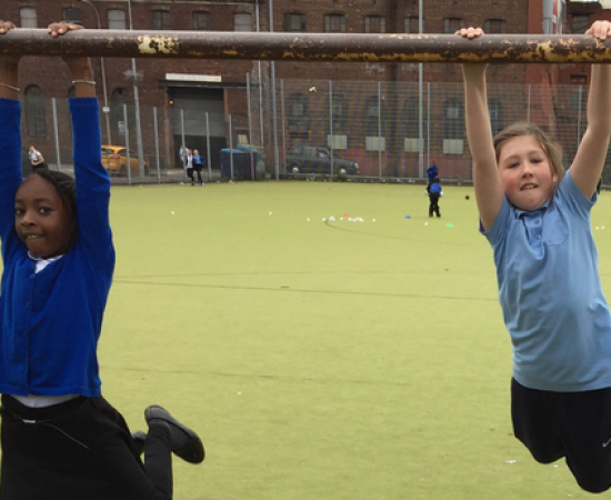 The importance of engaging Scotland's girls in Active Play