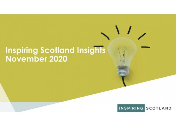 Inspiring Scotland Insights November 2020
