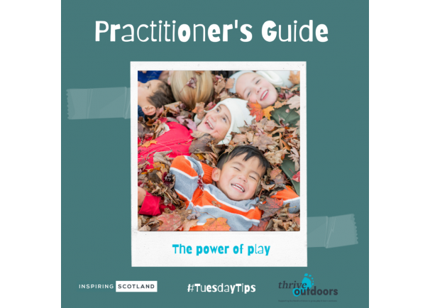 A Practitioner's Guide: Play and Wellbeing Tips