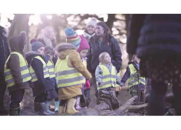 Video: Outdoor ELC for Children: What do children think of their outdoor nursery?