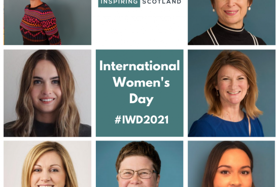 Celebrating International Women's Day at Inspiring Scotland