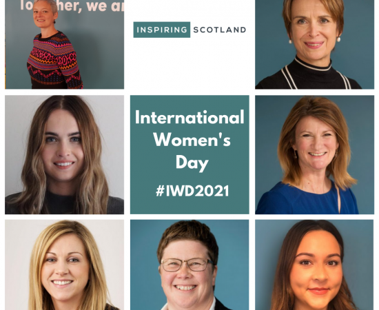 Celebrating International Women's Day at Inspiring Scotland
