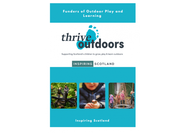 Funders of Outdoor Play and Learning