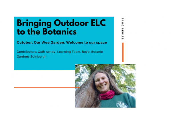 Thrive Outdoors Blog Series: 'Our wee garden'