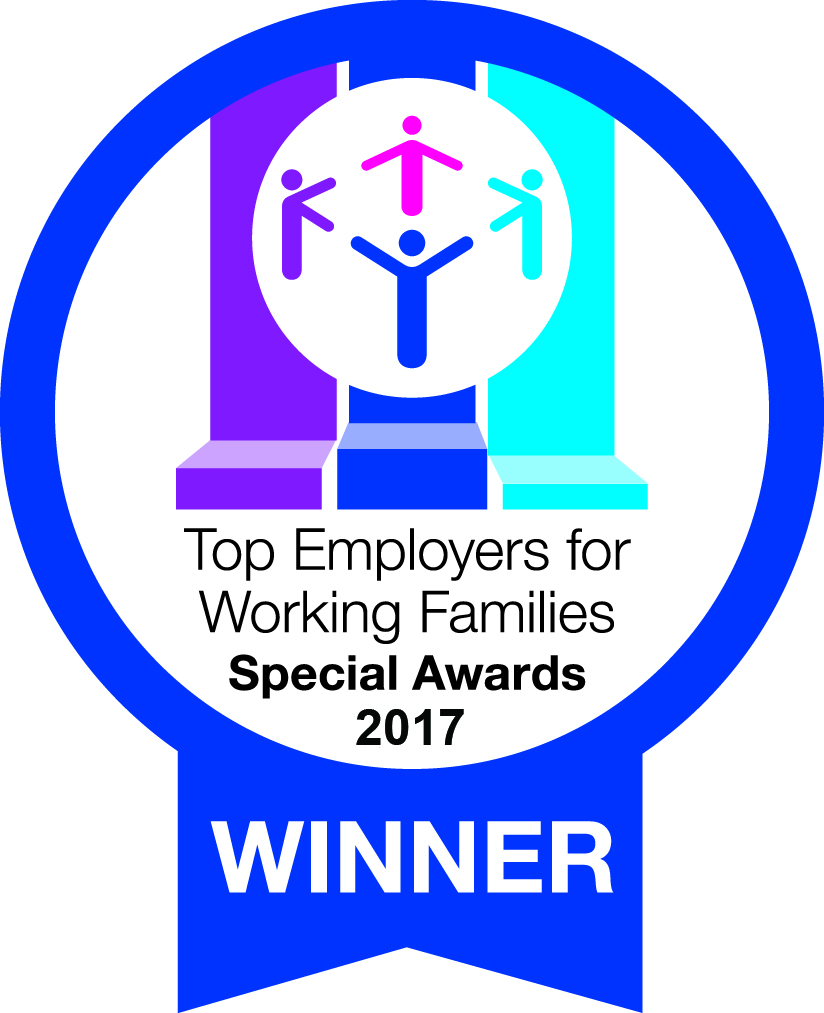 Working Families - Top Employers Logo