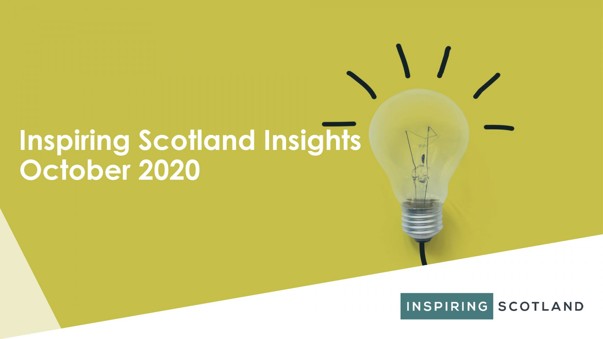 Inspiring Scotland Insights October 2020