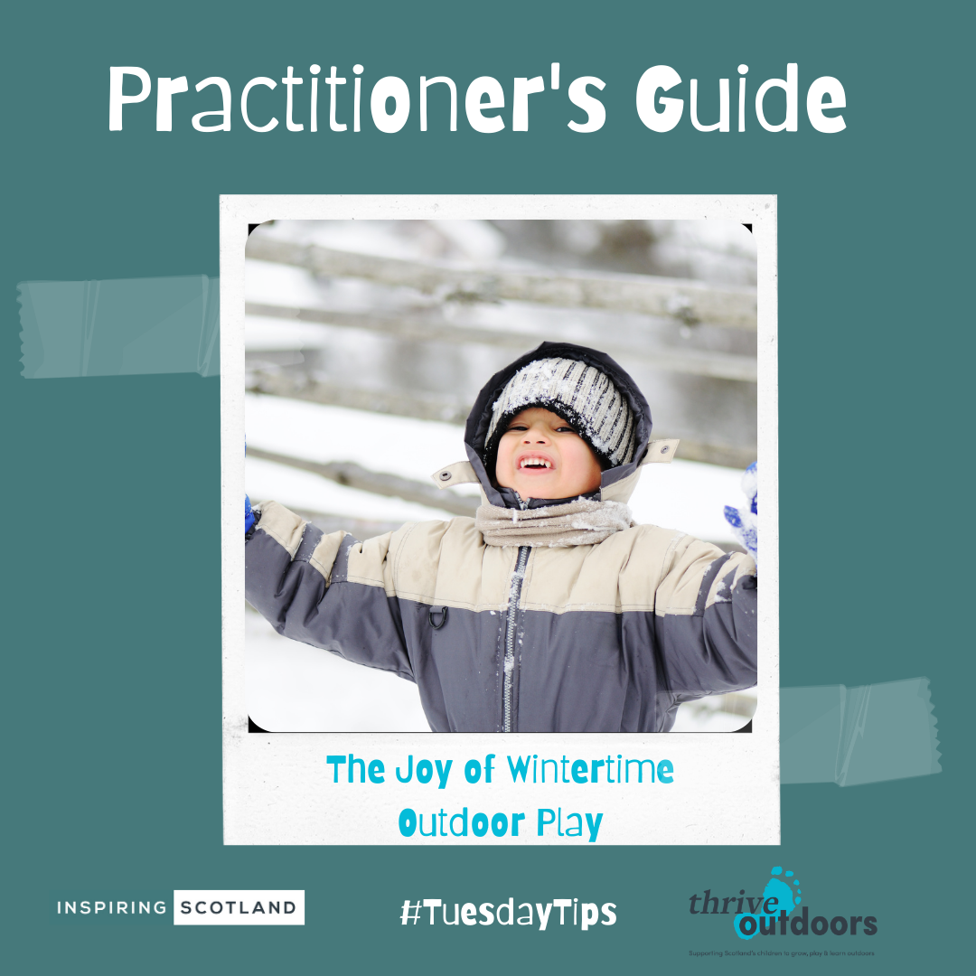 A Practitioner's Guide: The joy of wintertime outdoor play