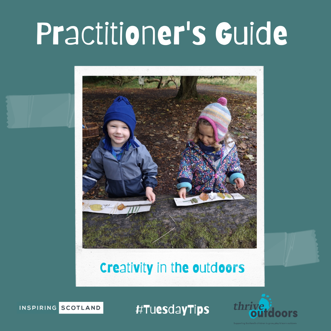 A Practitioner's Guide: Creativity in the outdoors
