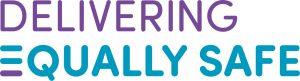 Delivering Equally Safe text logo