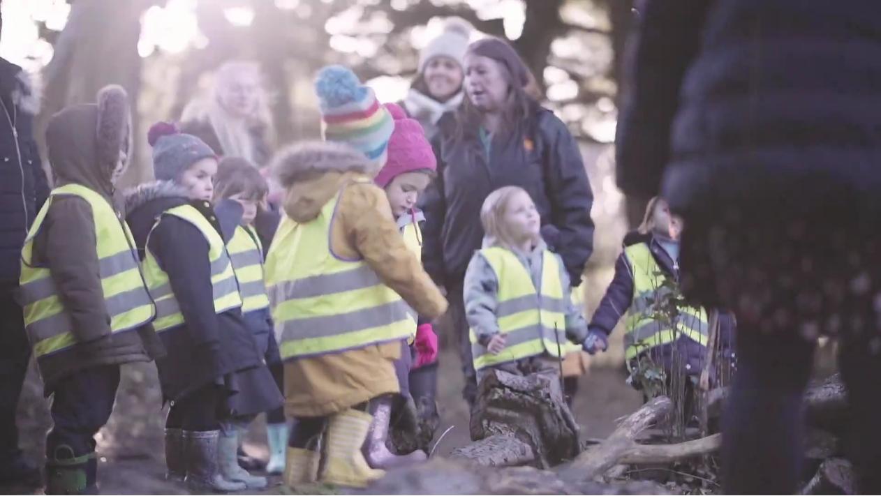 Video: Outdoor ELC for Children: What do children think of their outdoor nursery?